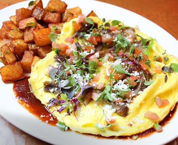 Carnitas Omelette
