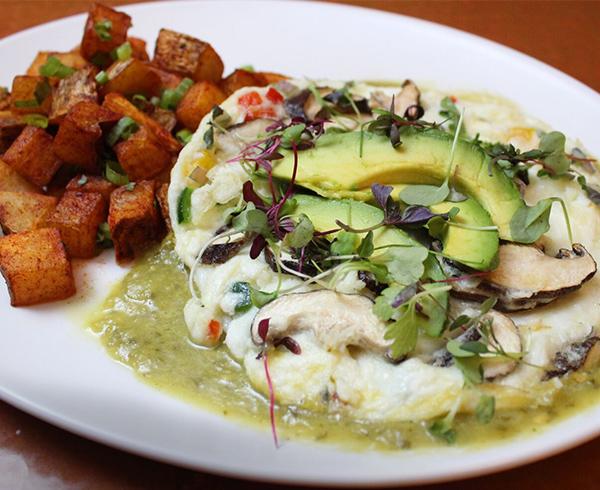 Garden Egg White Omelette
